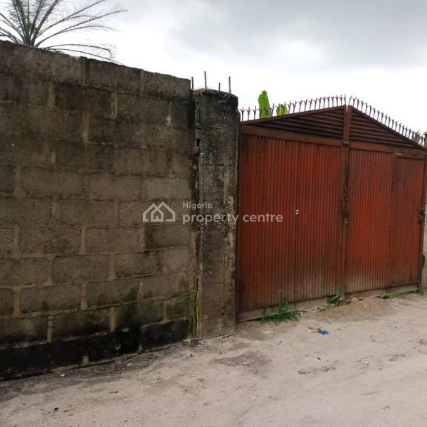 Standard 1 Plot of Land in a Fine Location, Woji, Port Harcourt, Rivers, Mixed-use Land for Sale