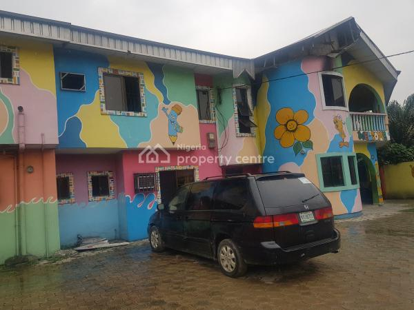 Functional School Also Good for Guest House ,clinic Or Church, Sasun Round About Off Peter Odili Road, Trans Amadi, Port Harcourt, Rivers, Block of Flats for Sale