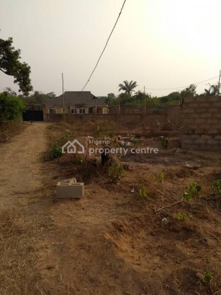 Half of Plot with a Foundation of 2 Bedroom, Alagba, Elenusoso,off Nihort, Jericho, Ibadan, Oyo, Detached Bungalow for Sale