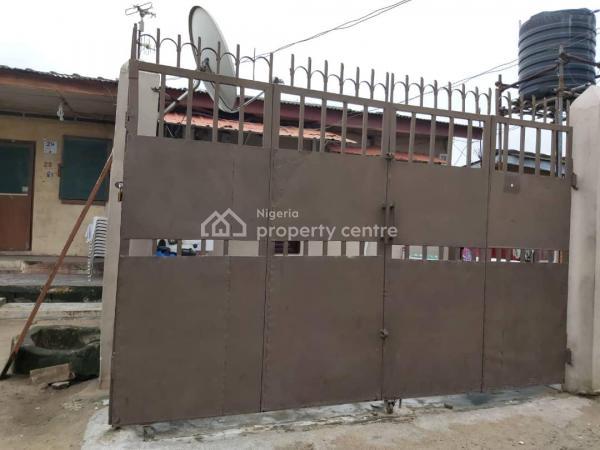 2 Bedroom Bungalow Plus 2 Bedroom Bq in a Nice Environment, Iletumi Street Behind Stadium Hotel, Barracks, Surulere, Lagos, Detached Bungalow for Sale
