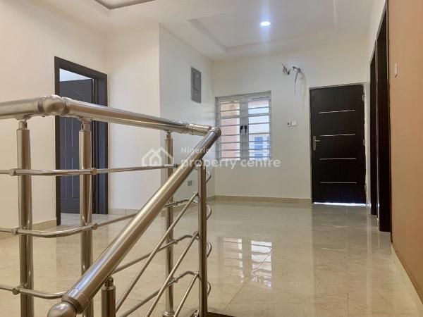 Newly Built 4 Bedroom Semi Detached House +1rm Bq with Lovely Finish, Chevron, Lafiaji, Lekki, Lagos, Detached Duplex for Sale