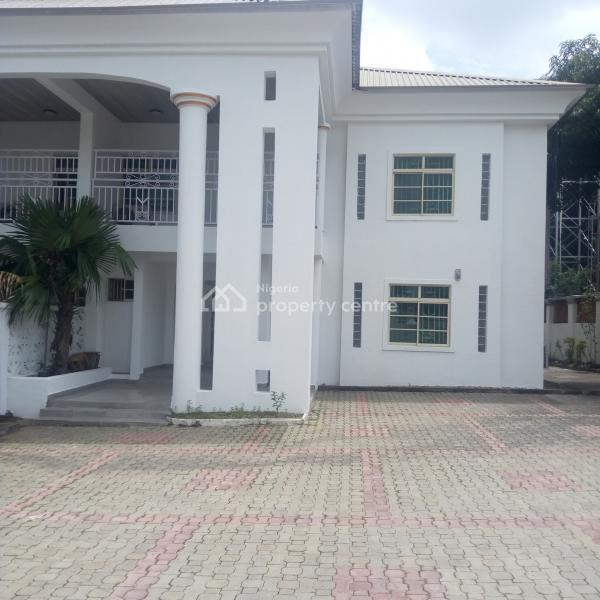 4 Bedroom Semi Detached House with 1 Room Bq, Off Aminu Kano Crescent, Wuse 2, Abuja, Semi-detached Duplex for Rent