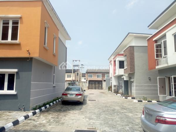 Newly Built 4 Bedroom Serviced Terraced Duplex, Close to Abraham Adesanya Round About, Ajah, Lagos, Terraced Duplex for Rent