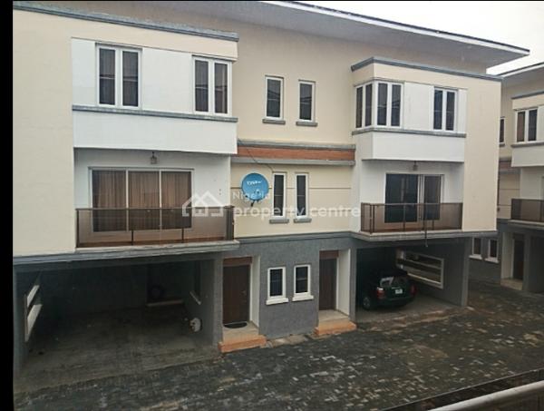 4 Bedroom Semi Detached Duplex with Bq, Chevy View Estate, Lekki, Lagos, Semi-detached Duplex for Rent