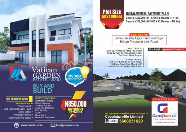 Land for Sale in Asaba, Behind Asaba Airport, Asaba, Delta, Mixed-use Land for Sale