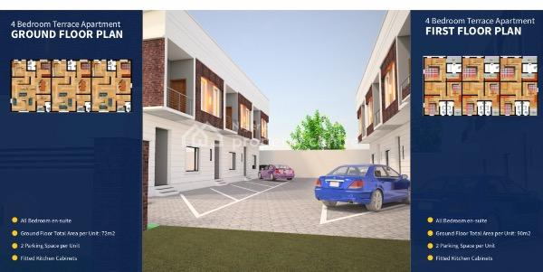 House Under Construction with Governors Consent, Sangotedo, Ajah, Lagos, Block of Flats for Sale
