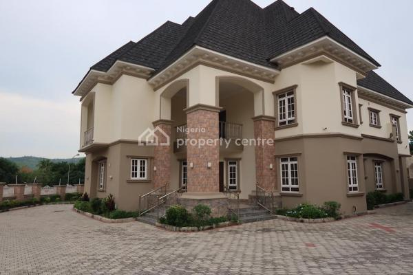 Brand New 6 Bedroom Detached House with 2 Room Guest Chalet 2 Room Bq with Swimming Pool, Off in Way, Maitama District, Abuja, Detached Duplex for Sale