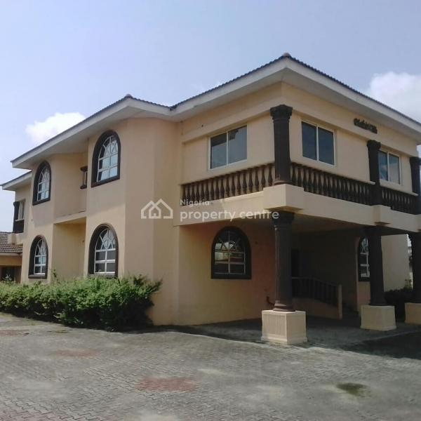 Massive 6 Bedroom Detached House with a Conference Room + Rear Bungalow, Victoria Island Extension, Victoria Island (vi), Lagos, Detached Duplex for Rent