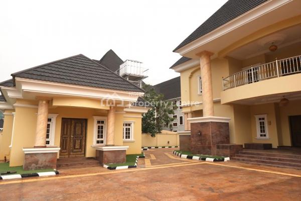 7 Bedroom Detached House with 2 Room Guest Chalet 2 Room Bq with Swimming Pool, Maitama District, Abuja, Detached Duplex for Sale
