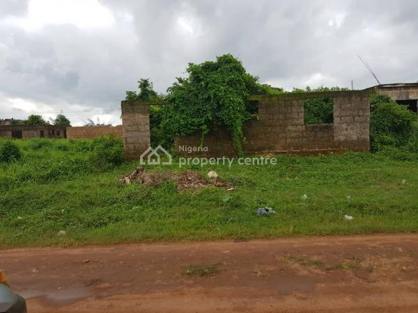 Cheap Plot/ Uncompleted 2 Flats, Off Ekehuan Road Adjacent to Ugbiyogho Primary School. Ugbiyogho, Benin, Oredo, Edo, Block of Flats for Sale