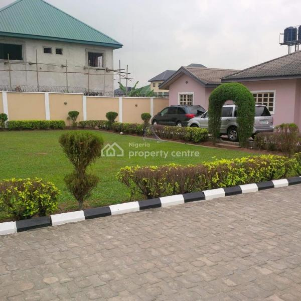 Country Home 4 Bedroom Bungalow, Nvigwe Estate, Woji, Port Harcourt, Rivers, Detached Bungalow for Sale