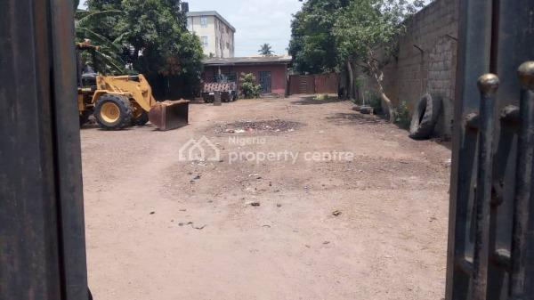 1450sqm Land with 6 Bedroom Bungalow Office, Abule Egba, Agege, Lagos, Commercial Land for Sale
