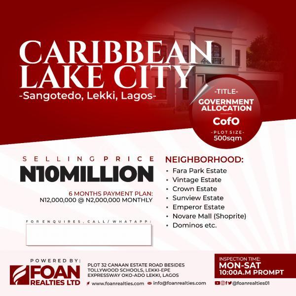 Survey Plan, Igbodu Isiwo Road, Epe, Lagos, Mixed-use Land for Sale