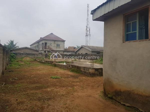 Residential Plot of Land (668sqm) with Foundation @ Adebanjo Street,  Ayobo  Ipaja.  Title: Registered Survey/registered Deed of a, Ayobo, Ipaja, Lagos, Residential Land for Sale