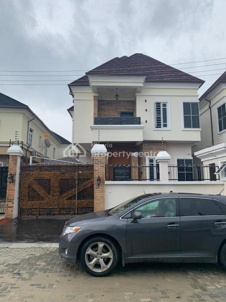 Brand New 4 Bedroom Fully Detached Duplex with Spacious Rooms All En-suite, Ikota Road 13, Lekki, Lagos, Detached Duplex for Rent