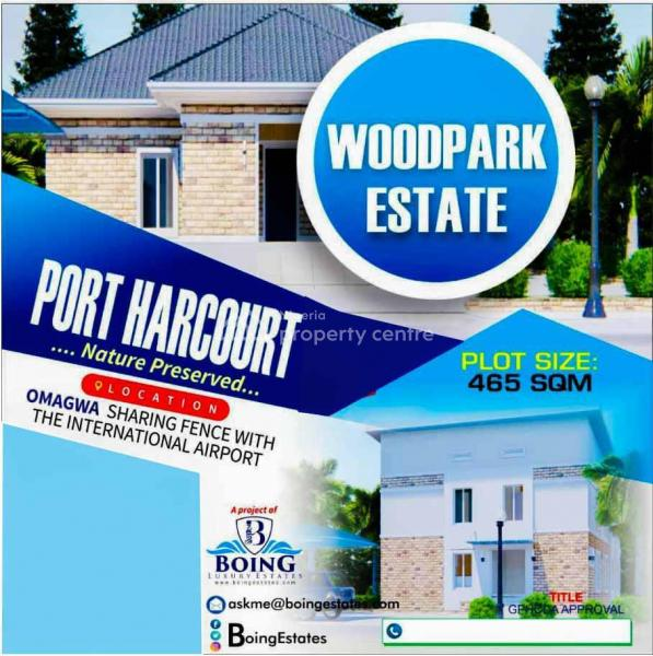 Woodpark Estate Land, Omagwa, Sharing Fence with The International Airport., Omagwa, Port Harcourt, Rivers, Mixed-use Land for Sale