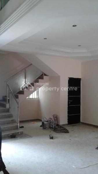 Luxury 3 Bedroom Terrace House /bq, Itedo Estate, Lekki Phase 1, Lekki, Lagos, Terraced Duplex for Rent