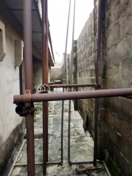 2 Bedroom Bungalow and Mini Flat with Uncompleted Building, Ah Street, Apeka, Ikorodu, Lagos, Detached Bungalow for Sale
