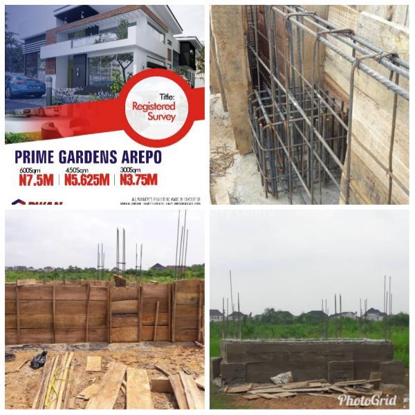 600 Sqm Estate Land, Prime Gardens, Berger, Arepo, Ogun, Residential Land for Sale