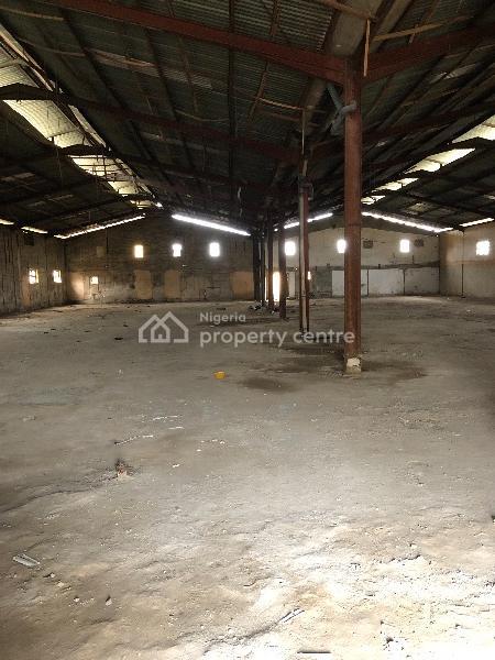 2900 Sqm Warehouse, Ogba, Ikeja, Lagos, Warehouse for Rent