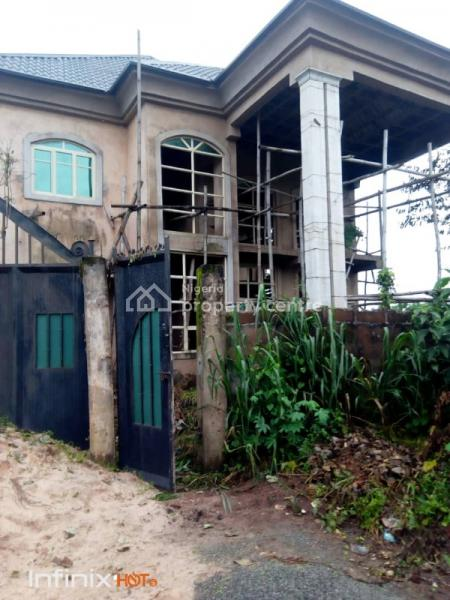 5-bedroom Detached House with 2 Living Room on a Full Plot of Land, Umuguma, Owerri, Imo, Detached Duplex for Sale