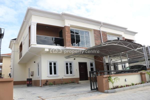 Brand New, Luxury and Superbly Finished 4 Bedroom Semi-detached House with Boys Quarter, Lafiaji, Lekki, Lagos, Semi-detached Duplex for Sale
