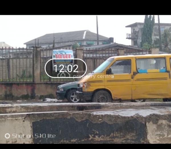 Full Plot in Open Business Area, Ipakodo, Ikorodu, Lagos, Church for Rent