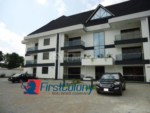 Grandiose and Well Serviced 2 Bedroom Apartment with Excellent Facilities, Off Bourdillon Road, Old Ikoyi, Ikoyi, Lagos, Flat for Rent