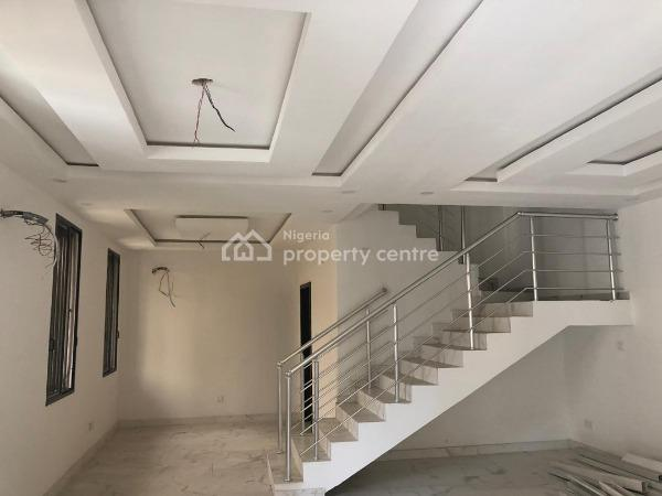 Brand New and Exquisitely Finished Serviced 5 Bedroom Fully Detached Duplex with Bq, Generator, Industrially Treated Water Supply, Osapa, Lekki, Lagos, Detached Duplex for Sale