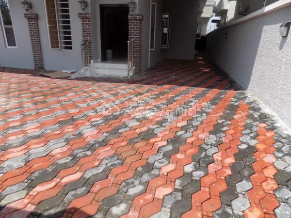 Top Notch 5 Bedroom Fully Detached Duplex with Bq, Chevy View Estate, Lekki, Lagos, Detached Duplex for Sale