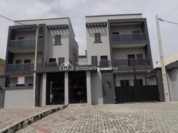 Top Notch 2 Units of 5 Bedroom Fully Detached Duplex with En Suite Bq, Lekki Phase 1, Lekki, Lagos, Detached Duplex for Sale