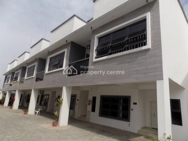 Tastefully Finished 3 Bedroom Terrace with Bq ,swimming Pool and 24 Hours Electricity, Ikate Elegushi, Lekki, Lagos, Terraced Duplex for Sale