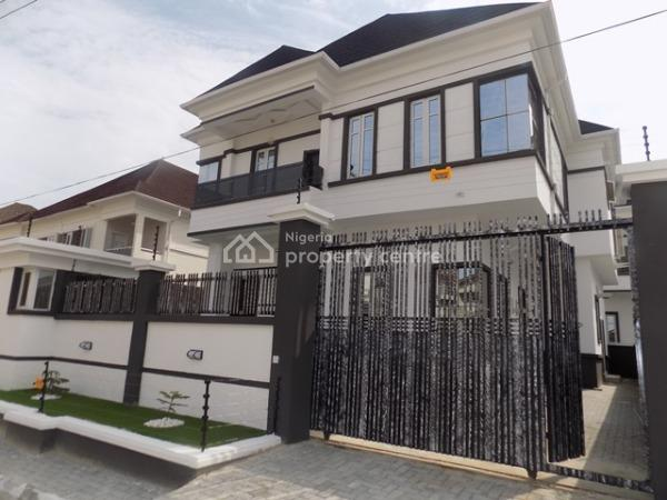 Top Notch Front House  5 Bedroom Fully Detached Duplex with Bq and Laundry, Ikate Elegushi, Lekki, Lagos, Detached Duplex for Sale