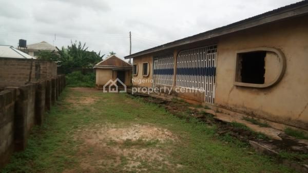 Affordable 2 Flats of 3 Bed Rook Each on 100ft By 80ft, Off Evbotubu Market Road Ekenhuan Road, Benin, Oredo, Edo, Block of Flats for Sale