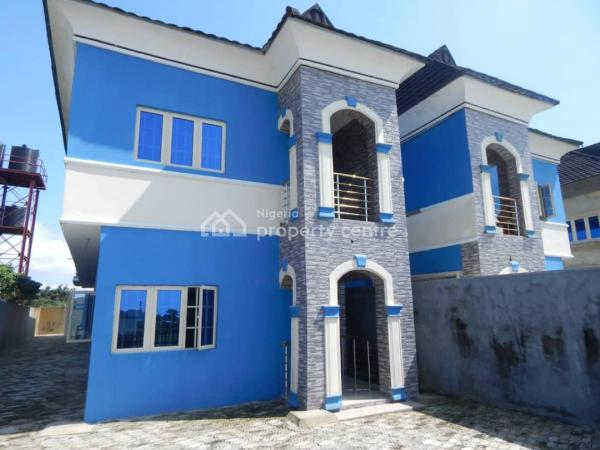 Atican Beachview Estate; 4 Bedroom Fully Detached Duplex with Bq in The Fastest Developing Area, Okun Ajah, Miami of Lagos, Abraham Adesanya Estate, Ajah, Lagos, Detached Duplex for Sale