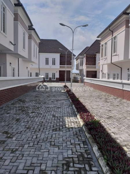 Exotically Finished 4 Bedroom Detached Duplex with Bq and 2 Sitting Rooms. Spacious Rooms, Massive Car Park with Exotic Interior, Ikota, Less Than 5 Minutes to Chevron, Lekki Scheme 2, Lagos., Lekki, Lagos, Detached Duplex for Sale