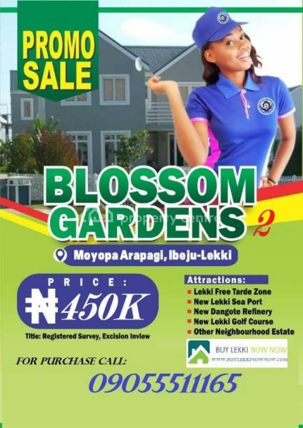Blossom Gardens Phase 2, Eleranigbe, Ibeju Lekki, Lagos, Mixed-use Land for Sale