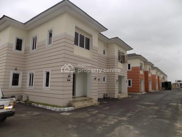 Luxury 8 Units of 4 Bedroom Semi Detached Duplex with Separated Bq , 24 Hours Constant Power and Gym in a Mini Gated Estate, Lekki Phase 1, Lekki, Lagos, Semi-detached Duplex for Rent
