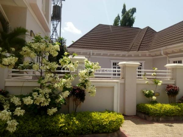 Brand New 6 Bedroom Fully Detached Duplex with 2 Rooms Guest Chalet and 2 Boys Quarters, Maitama District, Abuja, Detached Duplex for Sale