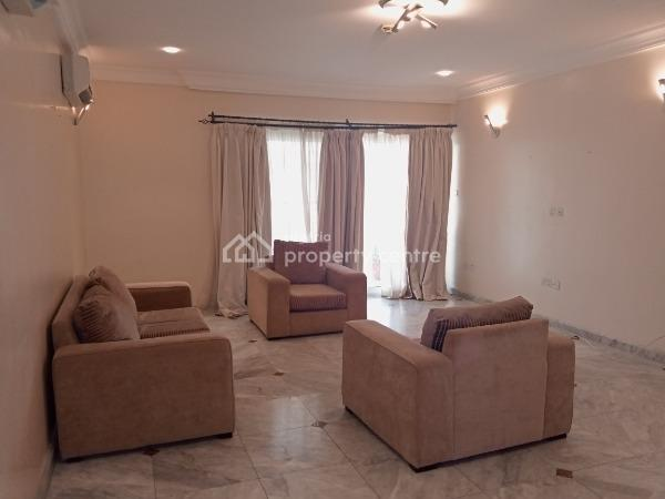 Lovely and Well Maintained Luxury 3 Bedrooms Serviced and Furnished Penthouse with a Room Bq,swimming Pool,etc., Banana Island, Ikoyi, Lagos, Flat for Rent