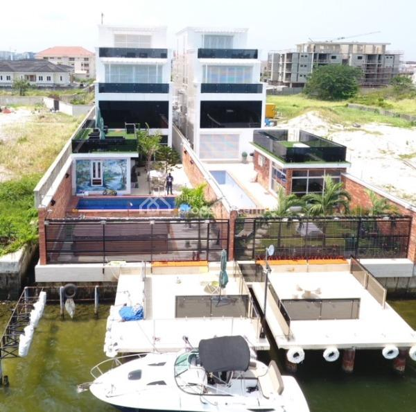 Luxury 7 Bedrooms Waterfront Duplex, Residential Zone, Banana Island, Ikoyi, Lagos, Detached Duplex for Sale
