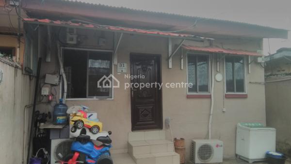 Well Finished and Modernized 2nos 2-bedroom Bungalows, Iletunmi Street, Off Iyun Street, Beside Stadium Hotel, Alaka, Surulere, Lagos, House for Sale