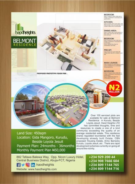 Belmont Residence, Gidan Mangoro, Kurudu, Abuja, Residential Land for Sale