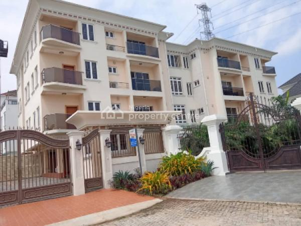 a Perfectly Finished 3 Bedroom Luxury Serviced Waterfront Apartment with a Room Bq, Banana Island, Ikoyi, Lagos, Flat for Rent