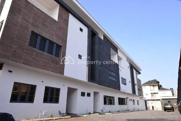 Brand New and Affordable 4 Bedroom Terrace, Chisco, Ikate Elegushi, Lekki, Lagos, Terraced Duplex for Rent