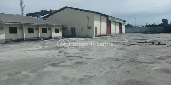 Well Located Warehouse with Offices, V, Trans Amadi, Port Harcourt, Rivers, Warehouse for Rent
