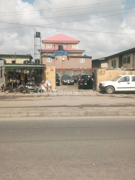 Prime Fenced Land 509sq.m@ Babs Animashaun, Surulere, Babs Animashaun Street, Bode Thomas, Surulere, Lagos, Mixed-use Land for Sale