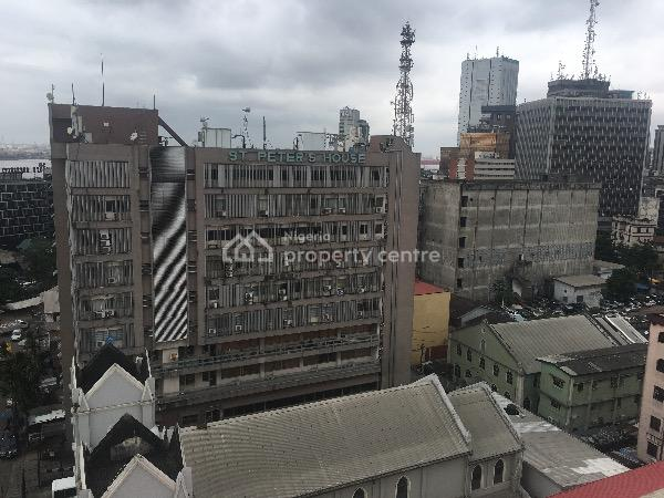 Open Plan Office Space - 218.6 Sqm, Campbell Street, By Knight Frank Building, Marina, Lagos Island, Lagos, Office Space for Rent