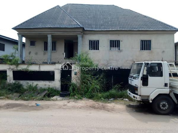 85% Completed of a Block of 2 Nos. 3 Bedroom Flat, 2 Nos. 2 Bedroom Flat and 2 Bedroom Bungalow, Surulere, Lagos, Block of Flats for Sale
