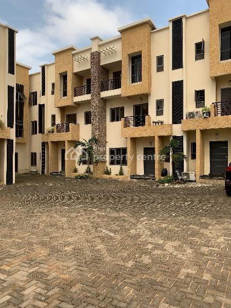 4 Bedroom Terrace with a Bq, Jabi, Abuja, Terraced Duplex for Sale